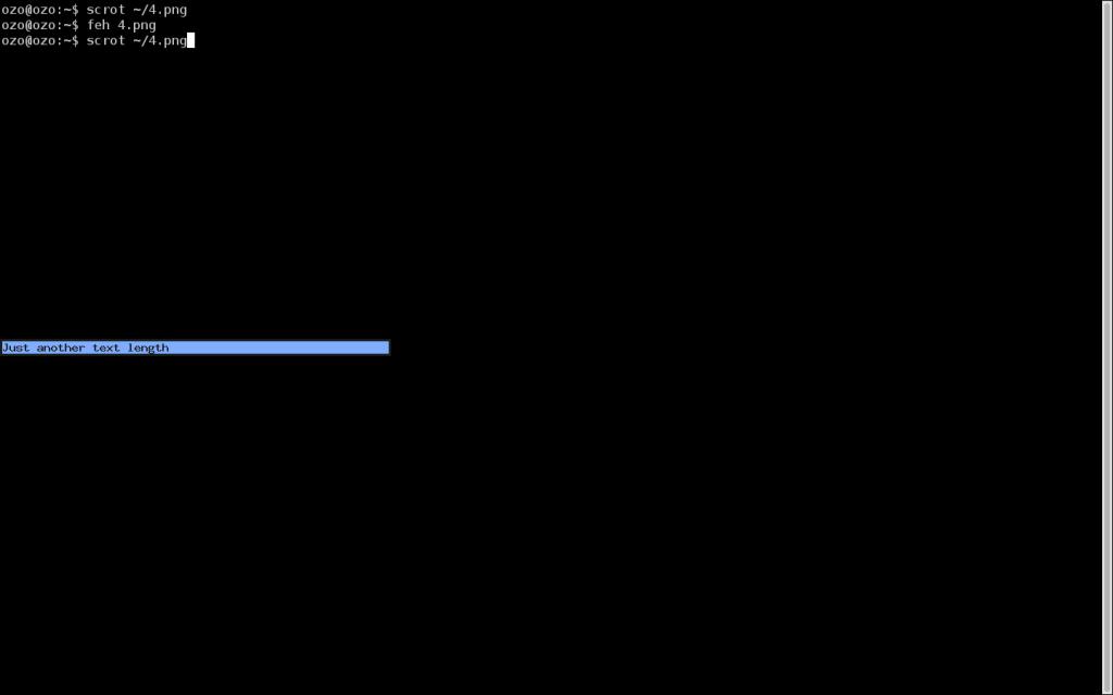 Задание минимальной ширины вывод - тестирование