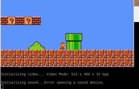 FCEU: Error opening a sound device.