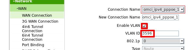 Настройка VLAN Промсвязь
